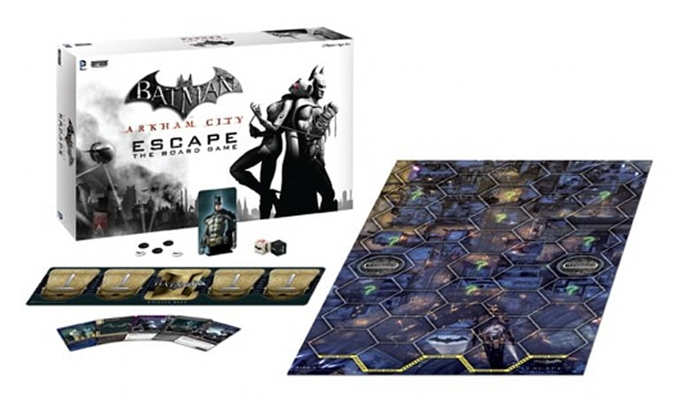 Batman: Arkham City is a board game now