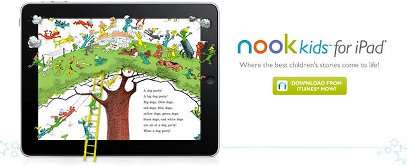 Barnes and Noble launches Nook kids iPad app