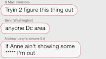 This screenshot perfectly sums up FireChat right now