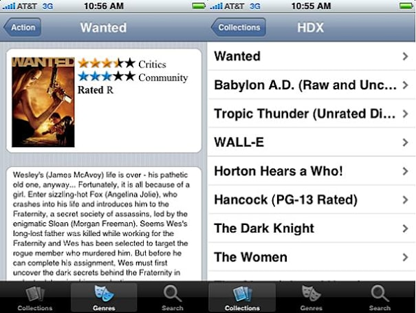 VUDU releases iPhone / iPod touch app