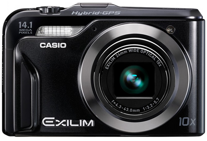 Casio debuts Exilim EX-H20G (with Hybrid GPS) and EX-Z16 point-and-shoots