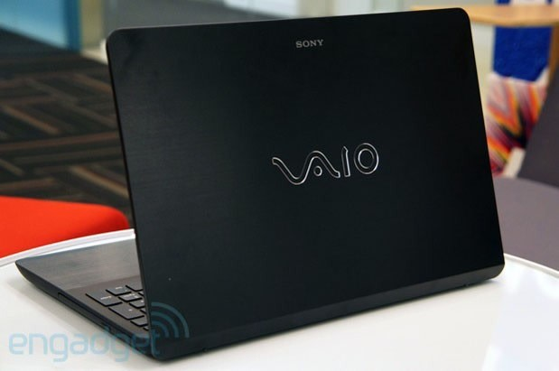how to open a sony vaio laptop screen