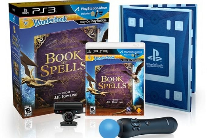 PlayStation Wonderbook starts augmenting your reality in November from $39
