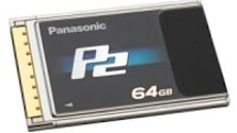 Panasonic launches 64GB P2 card, AJ-PCD35 ExpressCard adapter