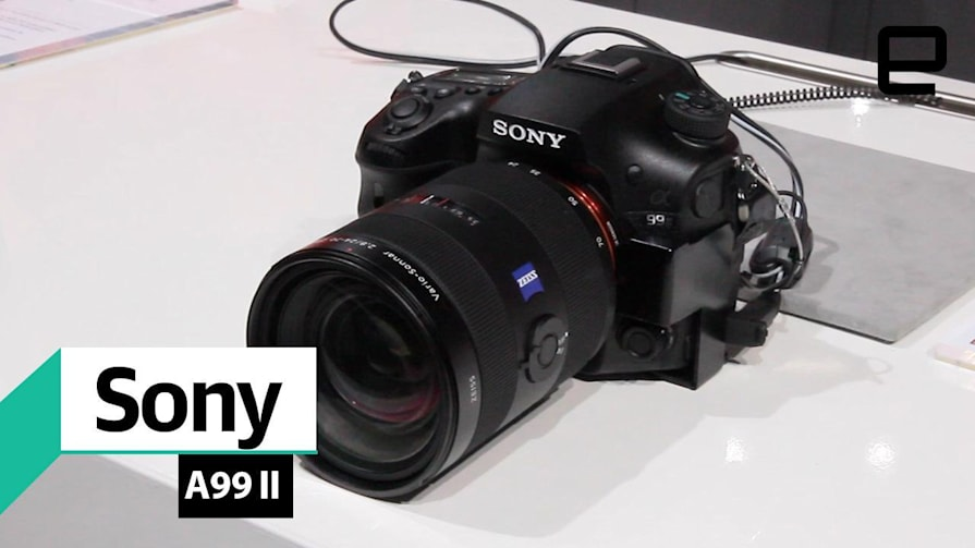 A look at Sony's A99 II SLT alpha-mount camera