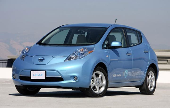 Nissan's 'Leaf to Home' system sends power back to your house or the grid