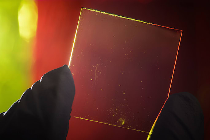 See-through solar panels provide power and a killer view