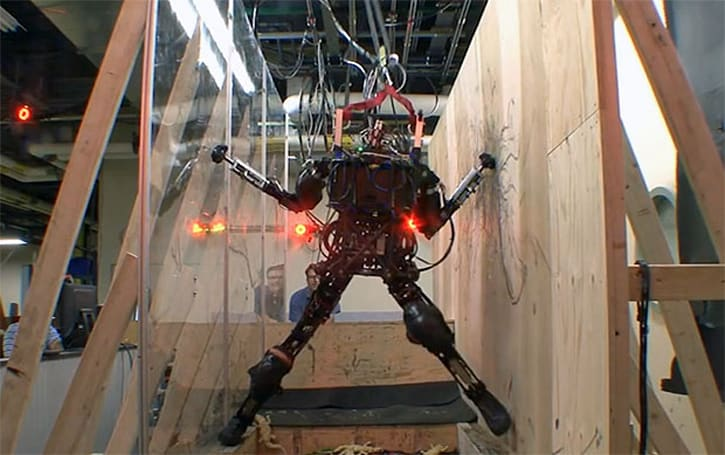 DARPA's Pet-Proto robot climbs, balances, jumps, comes to get you
