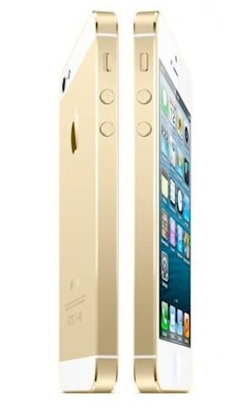 The gold iPhone is a done deal, says AllThingsD