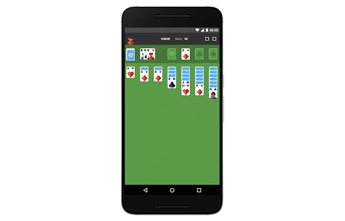 Playing solitaire and tic-tac-toe is as easy as a Google search