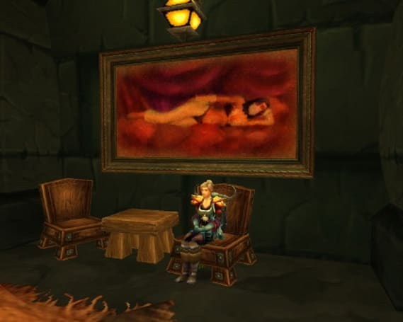 Around Azeroth: Even in Outland, you need a place to sit and relax