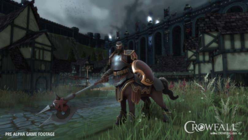 Crowfall's Legionnaire is a four-legged powerhouse