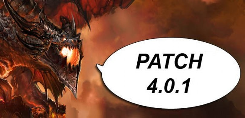 Blizzard announces patch 4.0.1 releases tomorrow