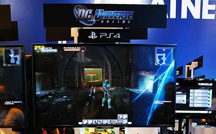 PAX Prime 2013: Breaking tables in DC Universe Online