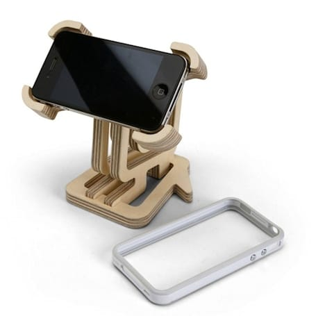Iconic Stand for your iPhone can put any logo to good, unauthorized use