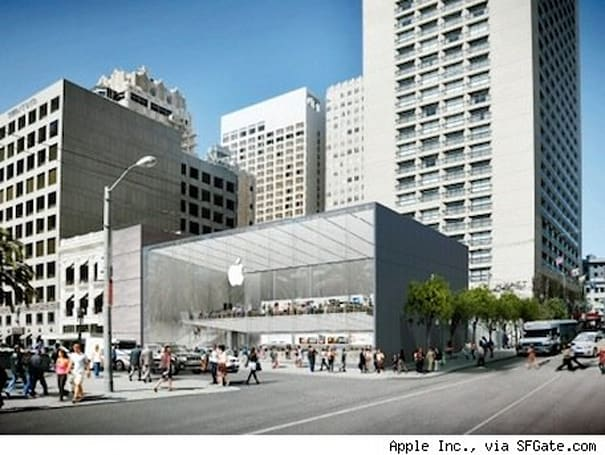 Apple to re-locate flagship store in San Francisco