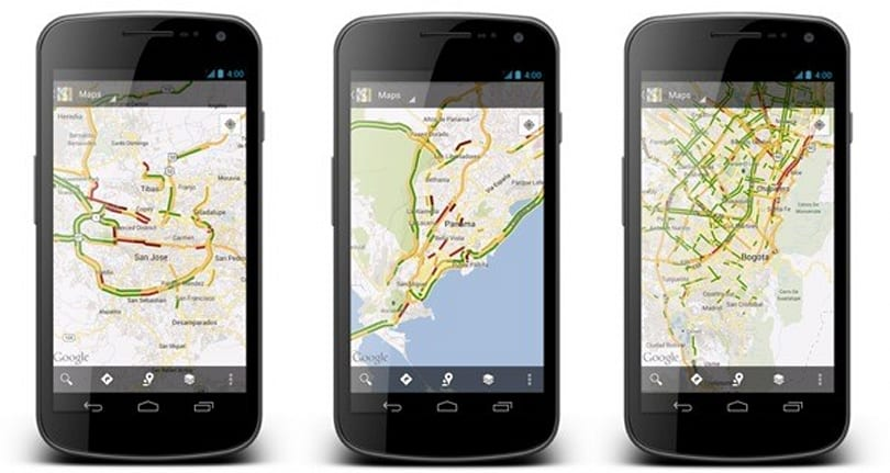 Google Maps adds live traffic for over 130 cities, boosts existing coverage