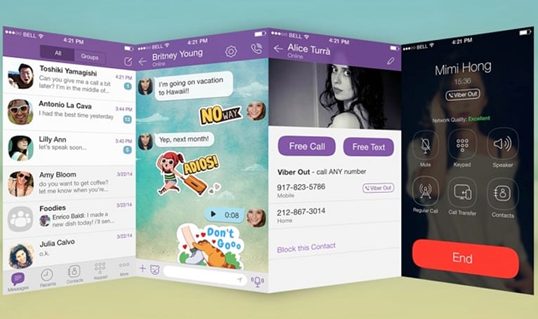 Viber's first major redesign makes it look right at home on the iPhone