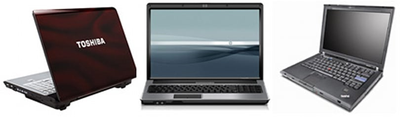 More Penryn laptops surface from Toshiba, Lenovo and HP Compaq
