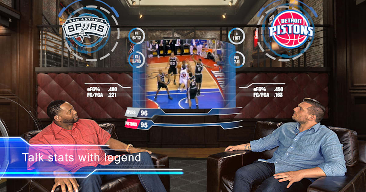 photo image The NBA made an original show for Google's Daydream VR platform