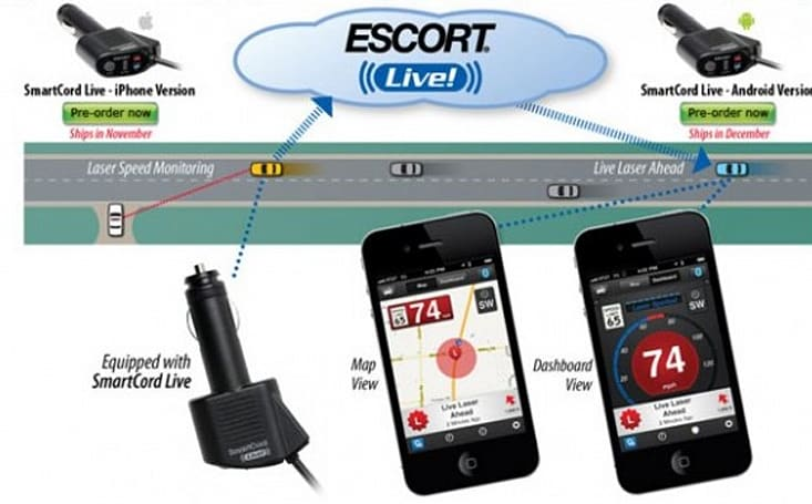 Escort's SmartCord Live brings radar detection, KRS-One to your smartphone (video)