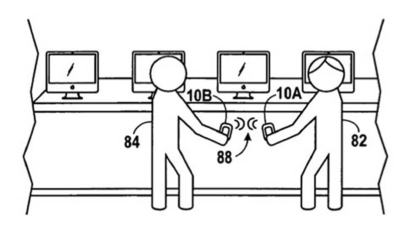 Apple patents workflow sharing using NFC, because it's never too late