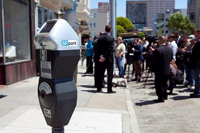 San Francisco rolls out new smart parking meters with 'demand-responsive pricing'