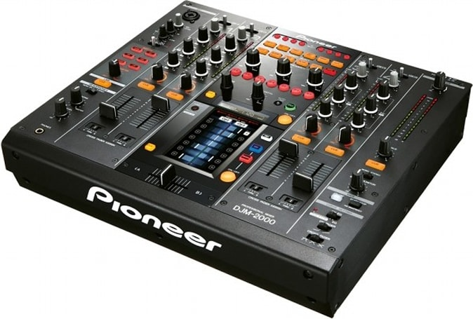 Pioneer DJM-2000 digital mixer sports multitouch screen, per-frequency mixing delight