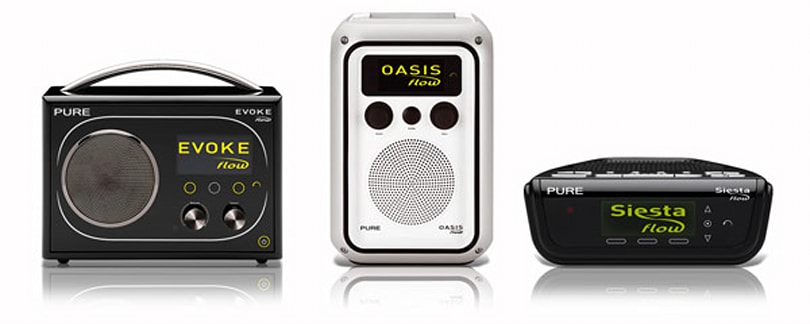 Pure's stylish internet radio lineup ships to America on July 1st