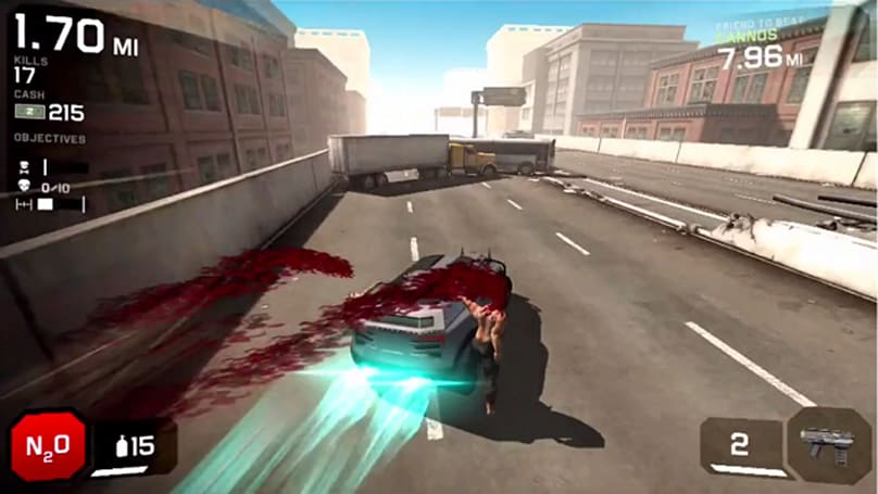 Zombie Highway 2 ups the eye candy and adds buckets of blood
