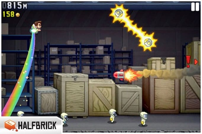 Jetpack Joyride update injects new jetpacks, reaffirms our loathing of Game Center friends