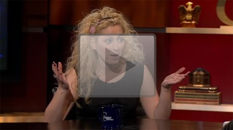Jane McGonigal talks about the goodness of games on The Colbert Report