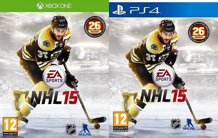 EA names Bruins' Bergeron as NHL 15 cover athlete