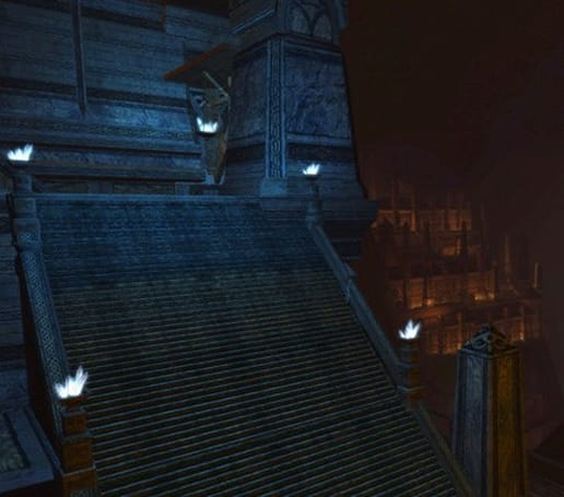 New Mines of Moria screens depict the Redhorn Lodes