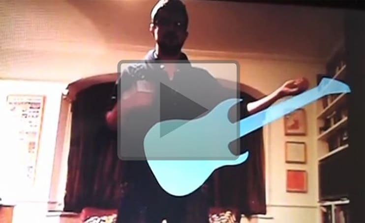 Kinect Hacks: True shredding potential unlocked with Kinect air guitar
