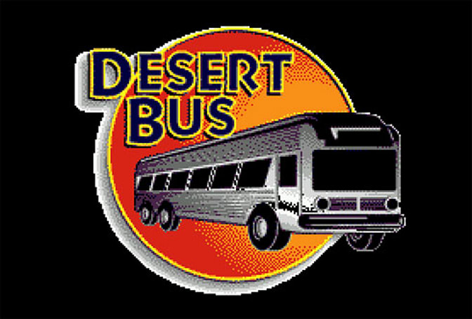 Selfless crazies play Desert Bus for charity