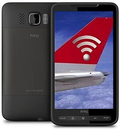 Aircell tempts HTC HD2 owners with six months free in-flight WiFi