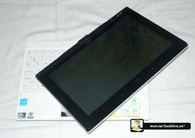 ASUS Eee PC T101MT convertible gets handled twice (video)