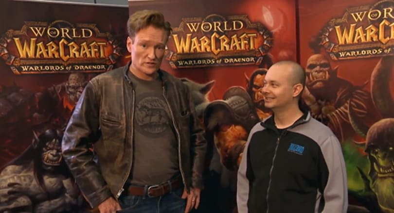 Conan O'Brien tries to understand World of Warcraft