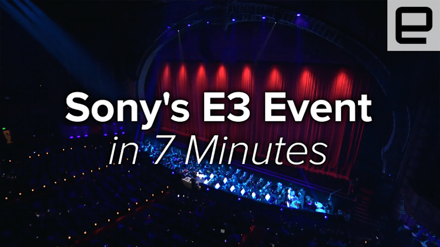 Sony's E3 2016 Event in 7 Minutes
