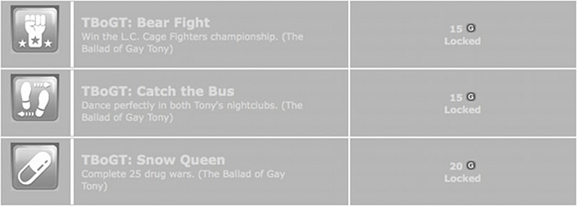 Dance the night away with Gay Tony Achievements