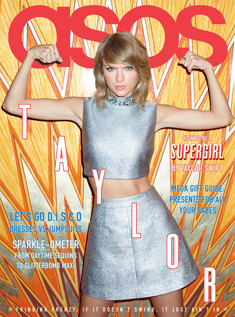 Taylor Swift says she dresses for her girls now