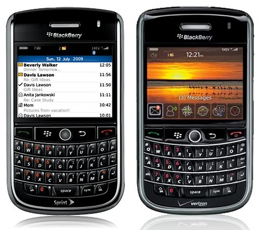 BlackBerry Tours, come and get 'em on Sprint and Verizon