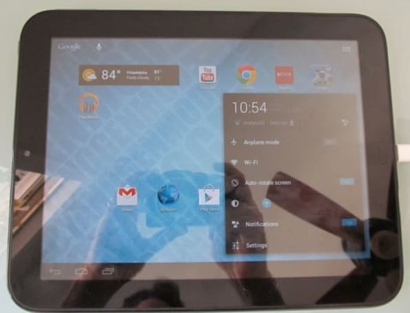 TouchPad gets an early taste of Android 4.1 Jelly Bean courtesy of CyanogenMod 10 (video)