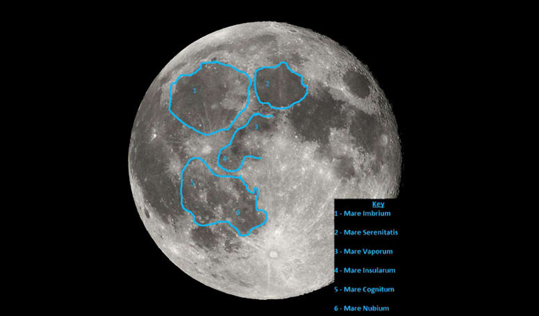 A baby planet created one of the moon's largest impact basins