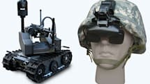 HARV gives soldiers a robot's-eye view