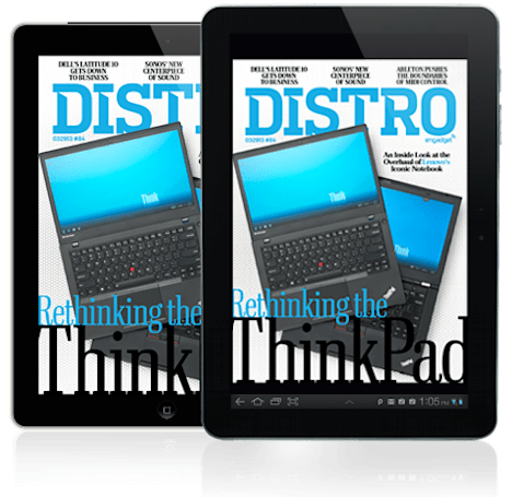 Distro Issue 84: The inside story behind the Lenovo ThinkPad redesign