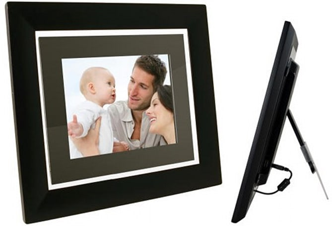 Pandigital's 10.4-inch PanTouch Clear WiFi digiframe is industry's thinnest