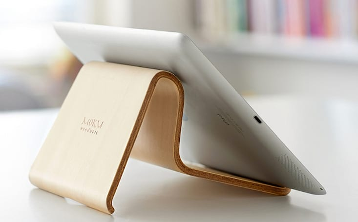 Beautifully crafted Desktop Chair v2 has your iPad sitting pretty