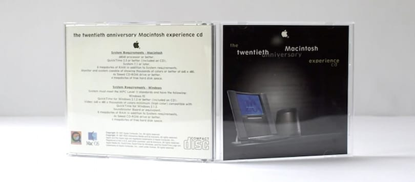 Video: The Twentieth Anniversary Macintosh Experience CD